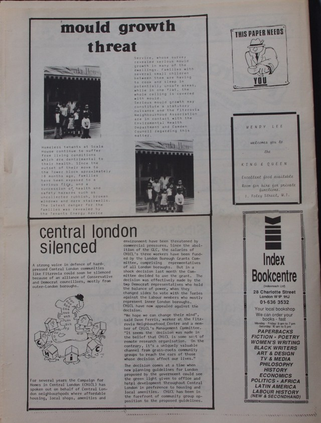 Page 12 Fitzrovia News no 45 June 1989