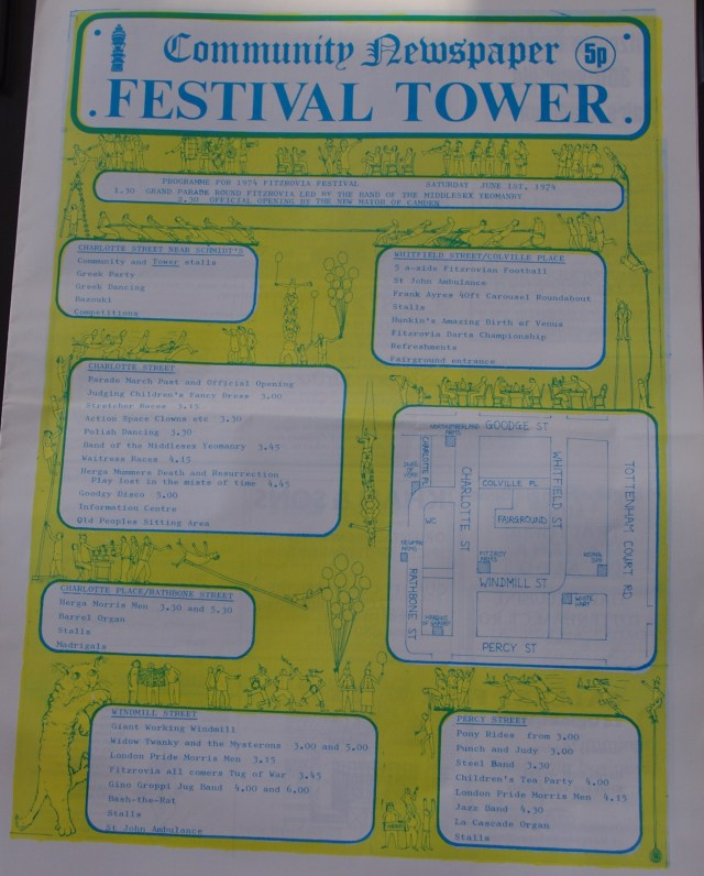 Festival Front page
