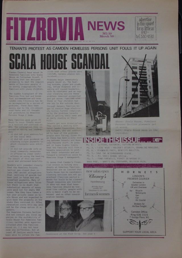 Page Fitzrovia Neighbourhood News no 37 October 1987