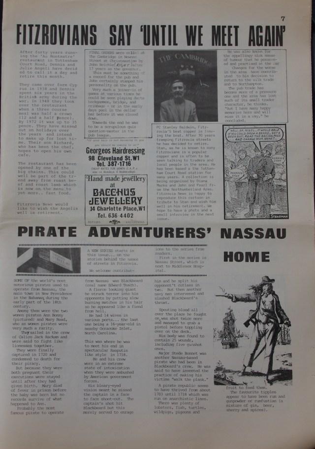 Page 7 Fitzrovia Neighbourhood News no 39  March 1988