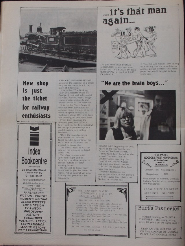 Page 4 Fitzrovia News no 44 March 1989