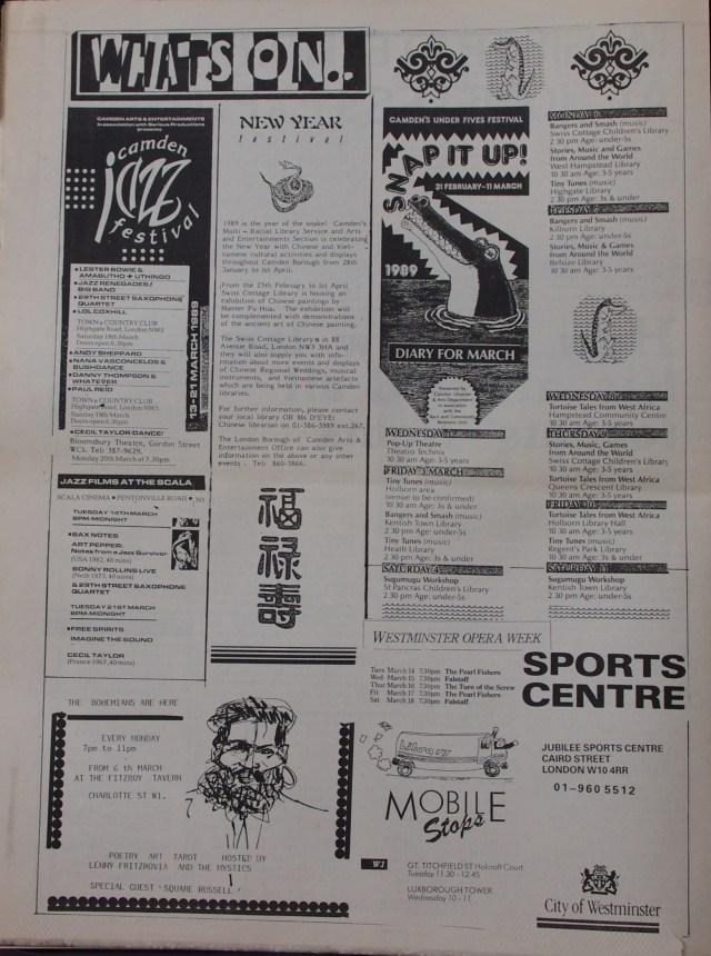 Page 6  Fitzrovia News no 44 March 1989