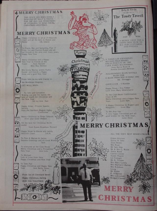 Page 4 Fitzrovia News no 47 December 1989