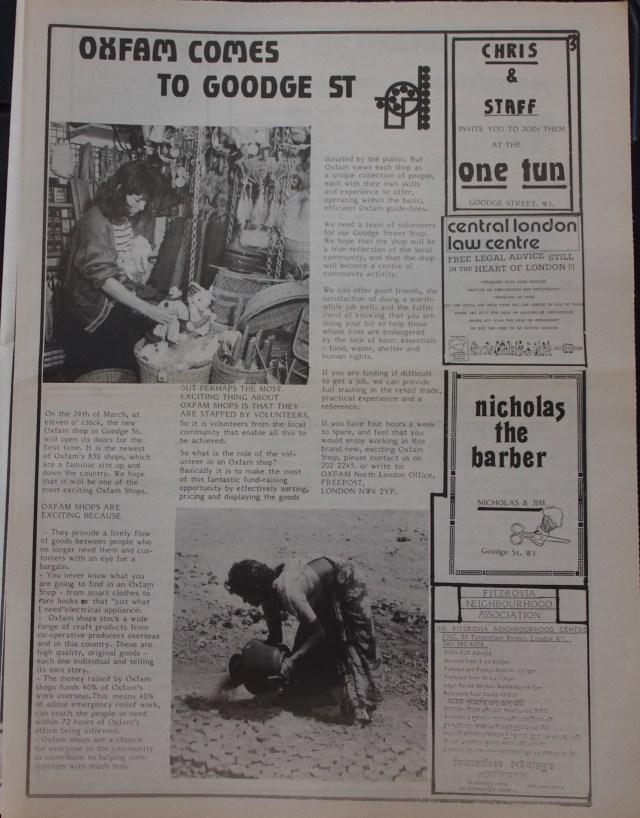 Page 3 Fitzrovia News no 48 February 1990