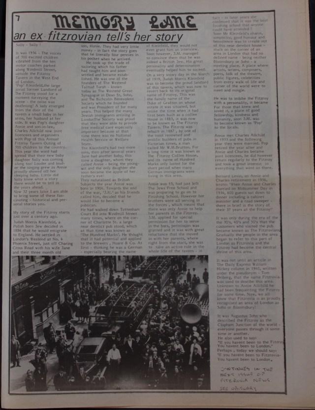 Page 7 Fitzrovia News no 48 February 1990