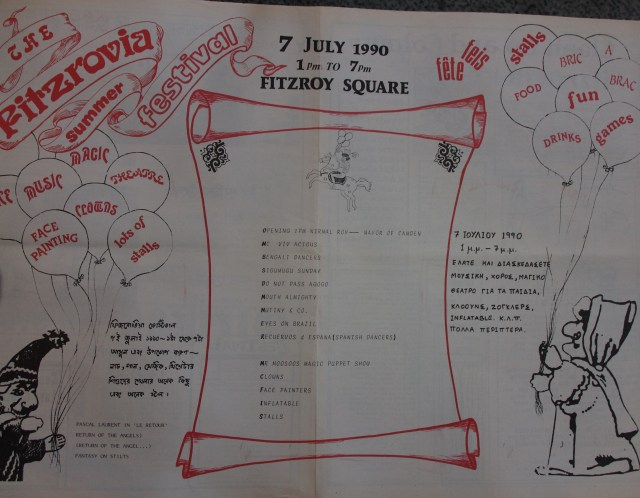 Pages 4-5 Fitzrovia News no 49 July 1990