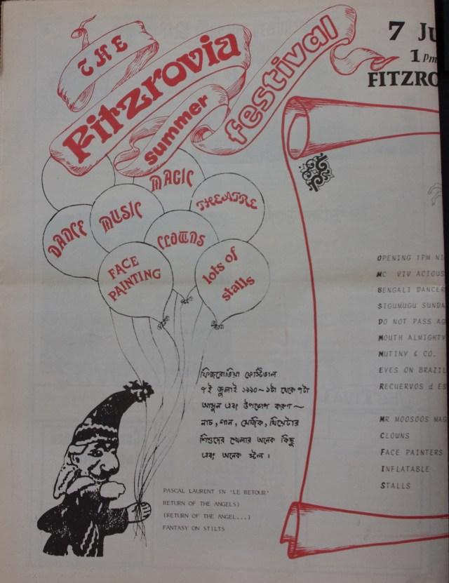 Page 4 Fitzrovia News no 49 July 1990