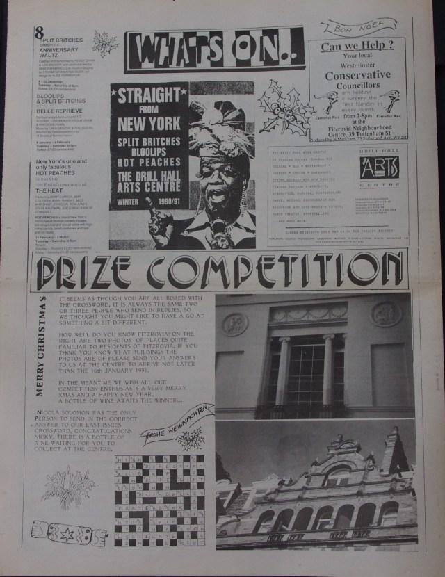 Page 8 Fitzrovia News no 51 December 1990