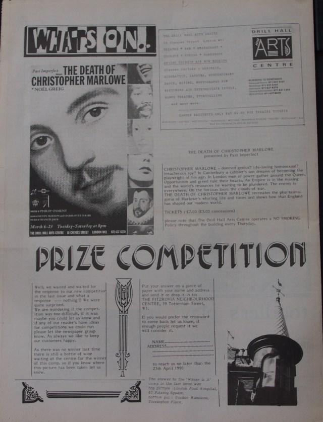Page 8 Fitzrovia News no 52 March 1991