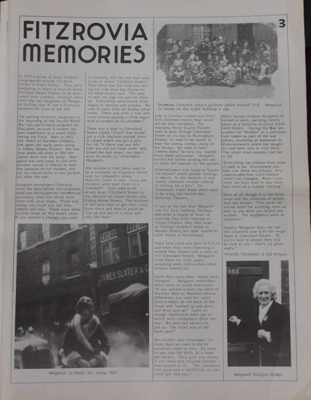 Page 3 Fitzrovia News no 53 June 1991