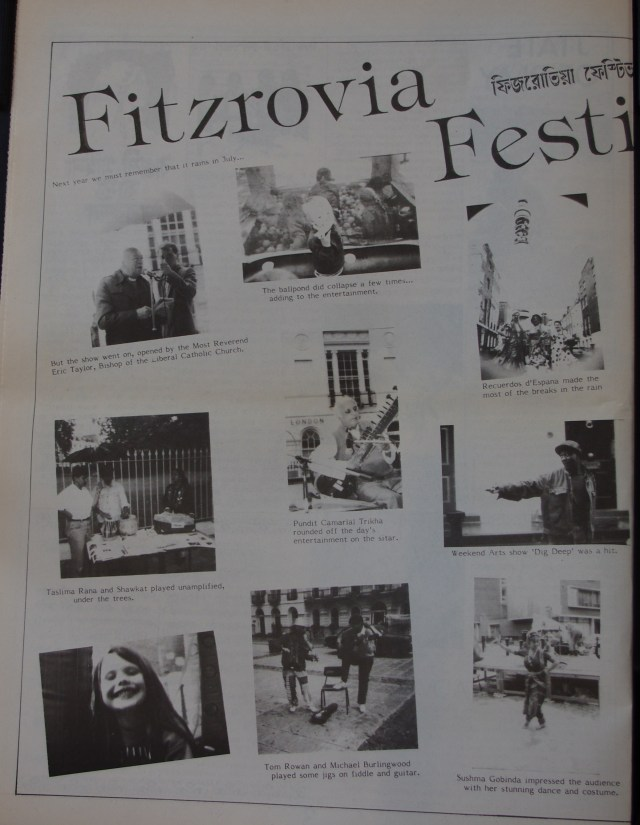 Page 4 Fitzrovia News no 58 September 1992