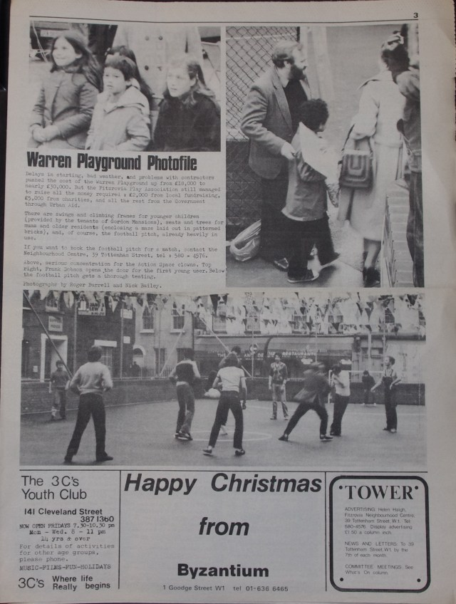 Page 3 Tower Community Newspaper no 57 December 1979