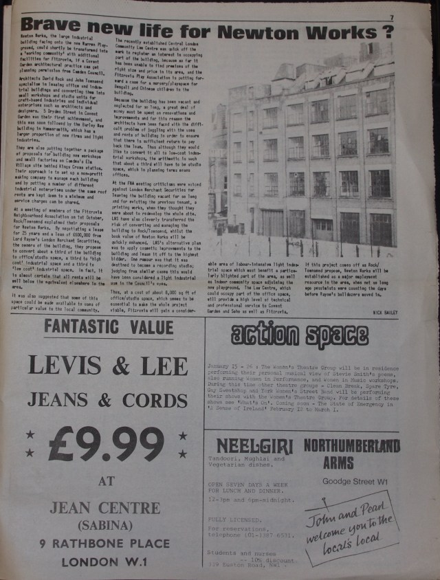 Page 7 Tower Community Newspaper no 57 December 1979