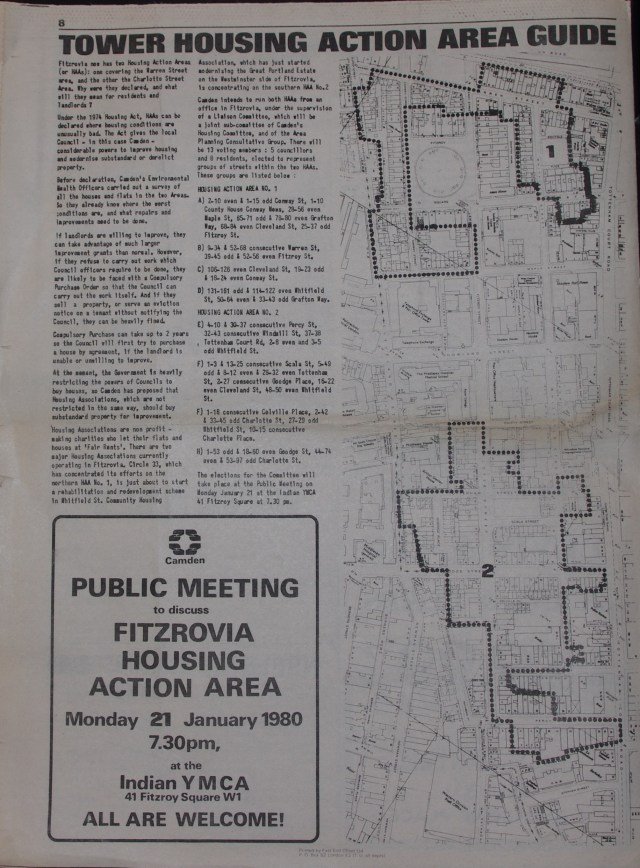 Page 8 Tower Community Newspaper no 57 December 1979