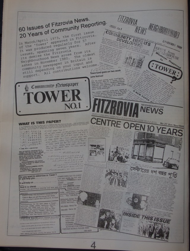 Page 4 Fitzrovia News no 60 March 1993