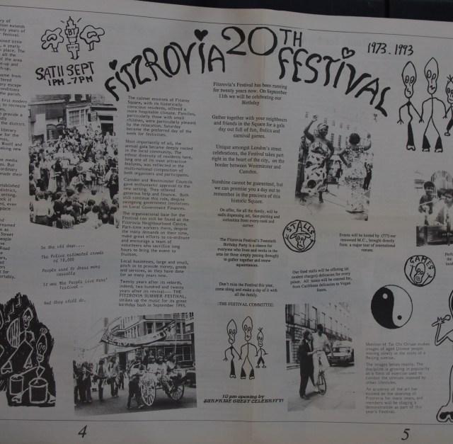 Page 4 -5 Fitzrovia News no 62 September 1993