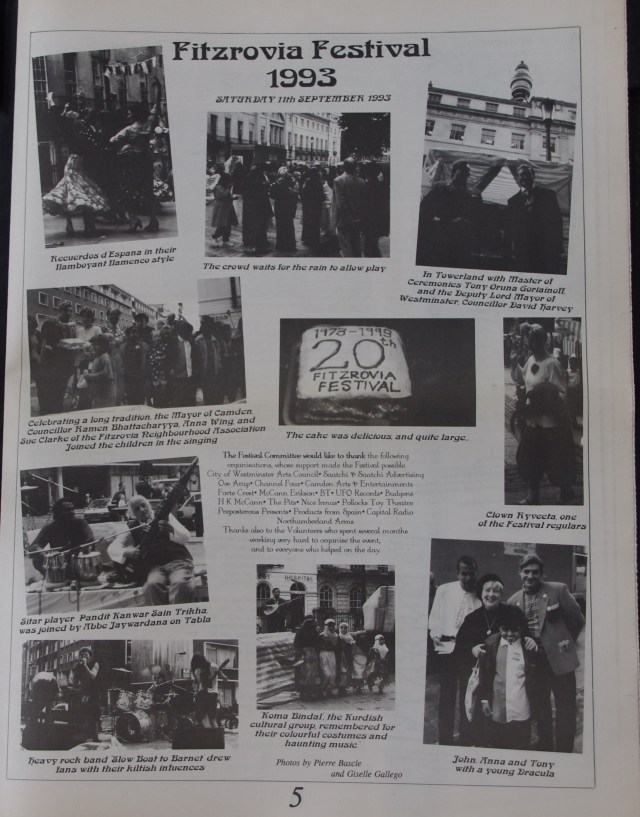 Page 5 Fitzrovia News no 63 December 1993