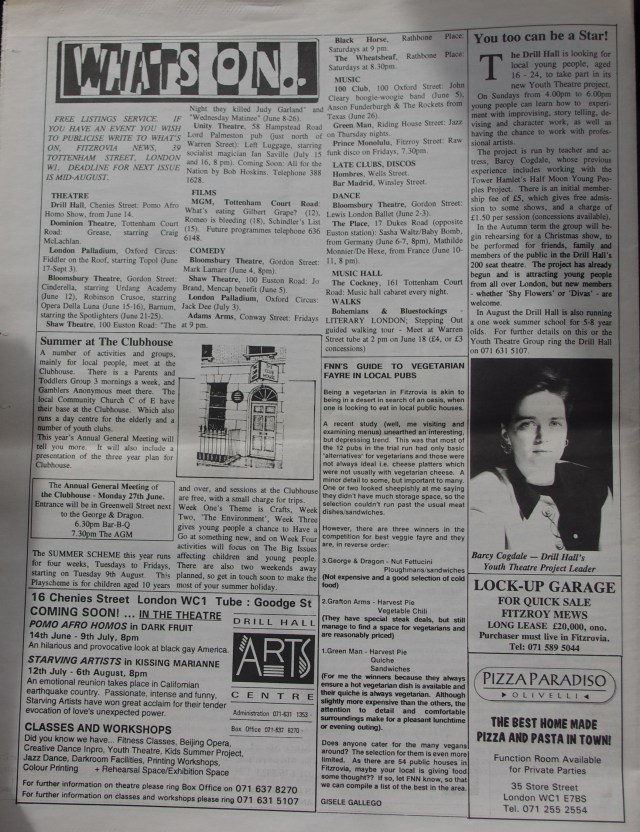 Page 8 Fitzrovia News no 65 June1994