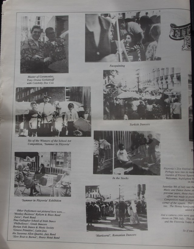 Page 4 Fitzrovia News no 66 September 1994