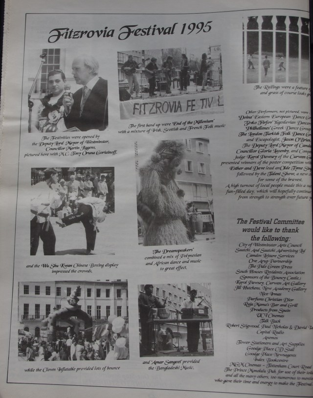 Page 4  Fitzrovia News no 70 September 1995