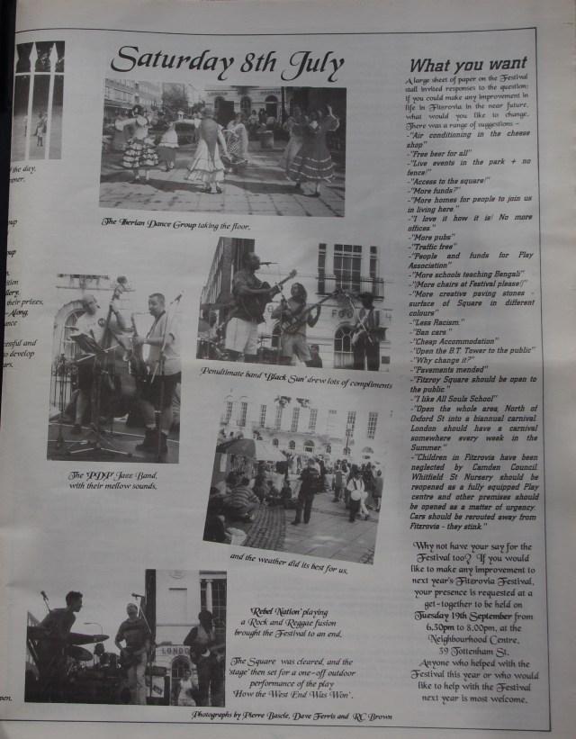 Page 5 Fitzrovia News no 70 September 1995