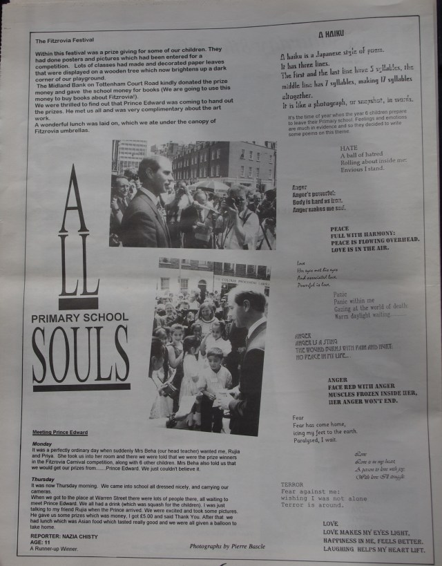 Page 6 Fitzrovia News no 70 September 1995