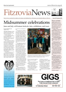 Fitzrovia News 129, June 2013.