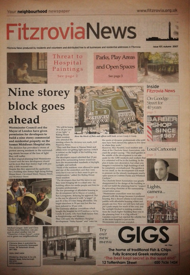 Front page.